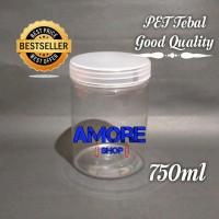 Toples Tabung 750ml - 800ml/ Toples Kue Kering/ Jar Premium/ Serbaguna