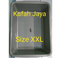 Bak Pasir Kucing / Cat Litter Box kotak ukuran XXL