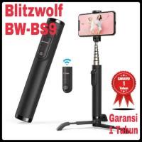 BlitzWolf BW-BS9 Bluetooth Tripod Selfie Stick Tongsis Samsung iPhone