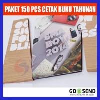 Paket 150 PCS Cetak Buku Tahunan Sekolah di SBK Store
