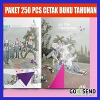 Paket 250 PCS Cetak Buku Tahunan Sekolah di SBK Store
