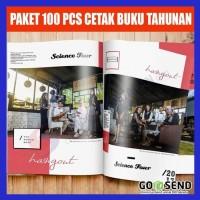 Paket 100 PCS Cetak Buku Tahunan Sekolah di SBK Store