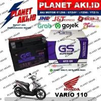 Aki Motor Honda Vario 110 Techno FI CW CBS GTZ5S GS Y Accu Kering MF