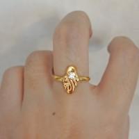 cincin emas asli kadar 700 70% 18k 22 0,5gram 10 11 12 13 14 15