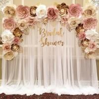 Paper Flower Backdrop Premium 05