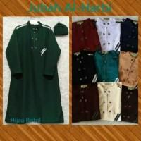 JUBAH PECI ANAK Branded Al Harbi Baju muslim pria 6 7 8 9 10 11 tahun