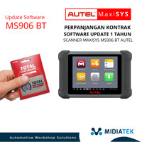Kontrak Software Update 1 Tahun Scanner MaxiSys MS906 BT AUTEL.