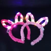 Bando lampu LED Bunny telinga kelinci party natal dan tahun baru