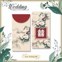 Angpao Custom Nama Wedding Pernikahan Amplop Uang Murah Unik Motif