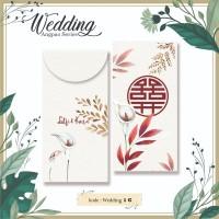 Angpao Custom Nama Wedding Pernikahan Amplop Uang Murah Unik Lucu
