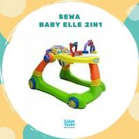 Sewa Baby Elle Baby Walker 2 in 1 / 14 hari (Salam Rental Toys)