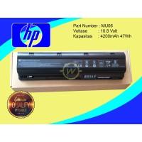 Baterai Laptop HP Pavilion DV3 DV5 DV6 DV7 DM4 G6 G7 G42 MU06 ORI CQ42