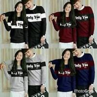 Big Sale Baju Couple Korea Kaos Pasangan Atasan Cewek Cowok Murah