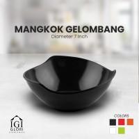 Glori Melamin Bowl Mangkok Gelombang Makan Mie Original 7 inch G4870