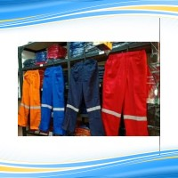 Seragam proyek khusus celana bahan drill 225
