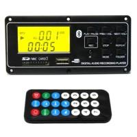 FM AUX DC12V MP3 Player Bluetooth USB Digital Audio Decoder