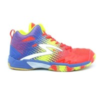 Sepatu Volly Badminton Specs Quicker MID Emperor Red Navy zest gree
