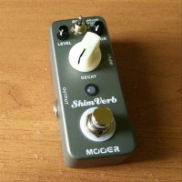 Mooer Shim Verb Reverb Pedal Efek Gitar Stompbox Mini Micro (NEW) l