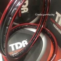 VELG TDR SET 140X160 RING 17 RED/BLACK SERIES ORIGINAL