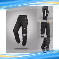 Celana joger cargo strip pria 225