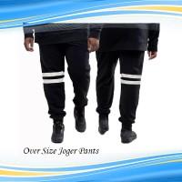 Celana Jogger Oversize Pria Kelvin / Training Joger Pants Jumbo Big Si