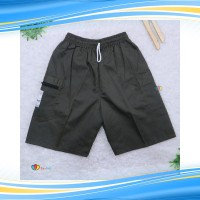 Celana Hawai Kantong Pria Polos/ Dewasa fit to XL Kantong Santai Olahr