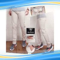 KTA celana chino pria cream 225