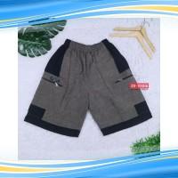 Celana Kantong Resleting Pria Fit to XL / Santai Olahraga Boxer Kolor