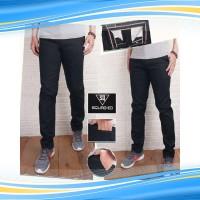 KTA celana chino pria hitam 225