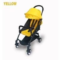 kereta bayi stroller BabyDoes CH-337-SN Petite Yellow