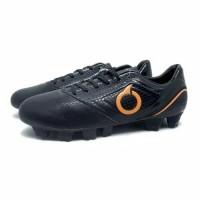 Sepatu Bola Ortuseight Genesis FG Black Ortrange