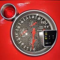 Tachometer rpm 5inch auto gauge 4 fungsi