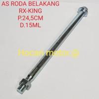 AS RODA BELAKANG RX-KING BEST QUALITY P.24,5CM D.15ML