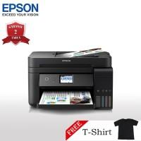 Epson L6190 Printer Wi-Fi Multifungsi - Print/Scan/Copy/Fax + T-Shirt
