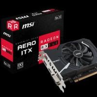 MSi RADEON RX 560 AERO ITX 4G OC -- 4GB DDR5 -- Big promo