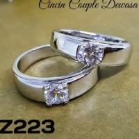 xuping cincin coupel lapis emas 24k 0102