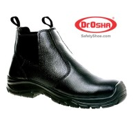Principal Ankle Boot - 3222 - Black - Dr.OSHA Safety Shoes