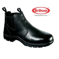 Principal Ankle Boot - 2222 - Black - Dr.OSHA Safety Shoes