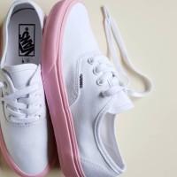 Sepatu Vans Authentic Lite Pop Sole / White Pink