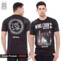 Kaos Wing Chun Hanzo Fight Gear, T shirt Wing Chung Ip Man Premium - M
