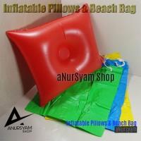 Bantal Tiup dan Tas Inflatable Pillows & Beach Bag