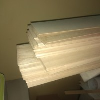 balsa sheet 1.5mm ukuran 10x50 2 lembar