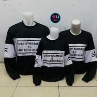 Sweater Couple Family Moment - Baju kaos Pasangan keluarga - Fashion