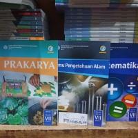 buku paket ipa . matematika . prakarya .kelas 7 semester 2 k13 3bk