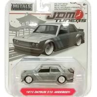 JAda JDM 1/64 1973 Datsun 510-widebody-silver metalic