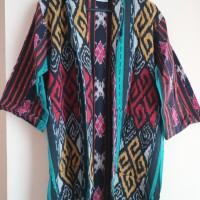 Cardigan Motif Toraja Nusantara All Size Merk Awan Ethnic Craft