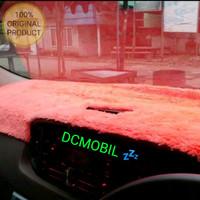 Aksesoris Cover Dashboard Mobil Calya/Sigra (Bulu Rasfur)