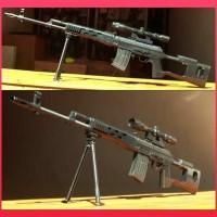 Dijual Mainan Sniper Plastik L96-A1 Magnum Awp Cs Go Barret Spring