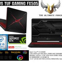 ASUS TUF GAMING FX505GD-I5501T|i5-8300U|DDR4 8GB|1TB|GTX-1050 4GB|W10