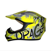 Snail 306 Cross Kid Drago Helm Motocross - Yellow